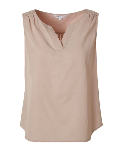 Pink Ruched Detail Blouse, Pink, hi-res