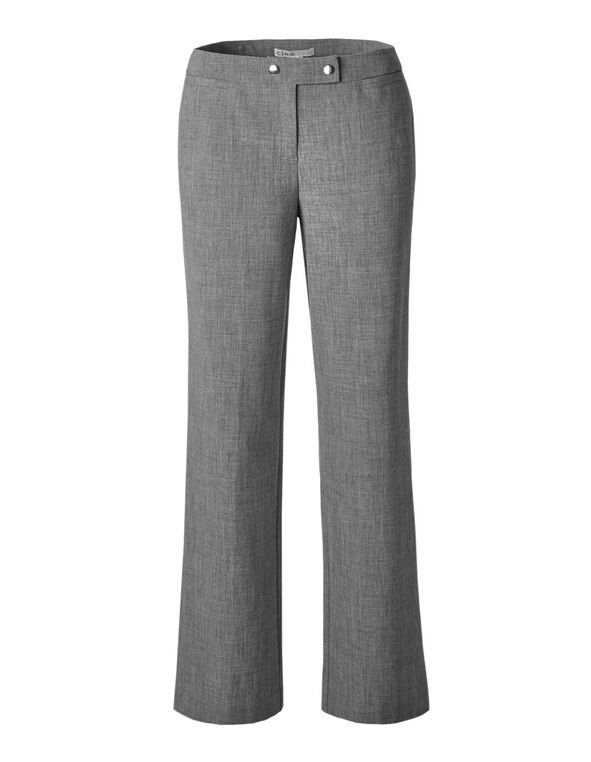 Grey Straight Leg Pant, Grey, hi-res