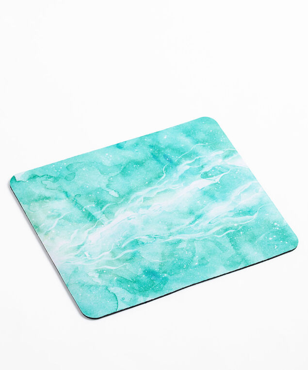 Marble Print Mousepad, Blue