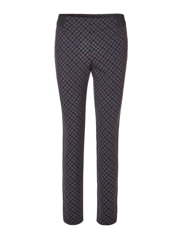 Plum Plaid Legging, Black/Plum/Grey, hi-res