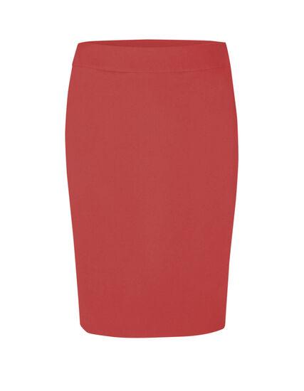 Grapefruit Pull On Pencil Skirt, Pink, hi-res