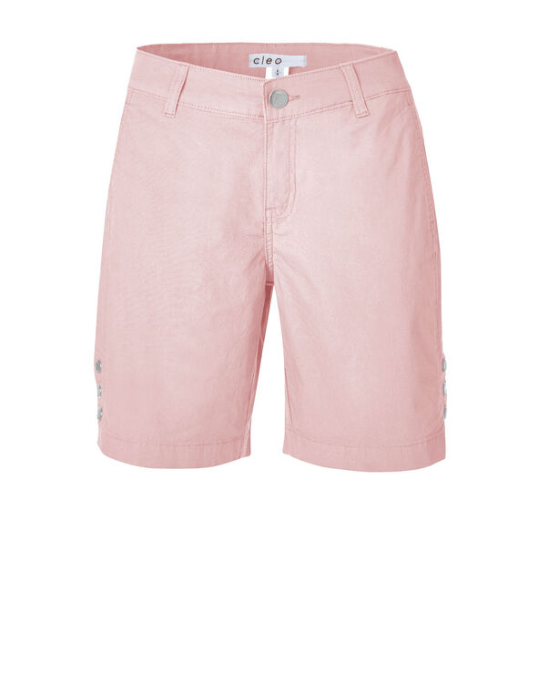 Cotton Candy Poplin Bermuda Short, Cotton Candy, hi-res