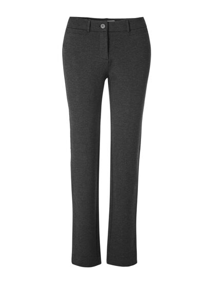 Charcoal Long Comfort Stretch Pant, Charcoal, hi-res