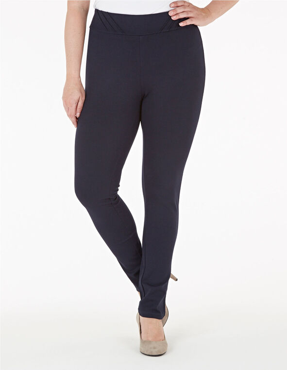 Navy Long Legging, Navy, hi-res