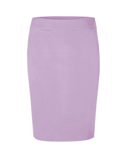 Lavender Pull On Pencil Skirt, Lavender, hi-res