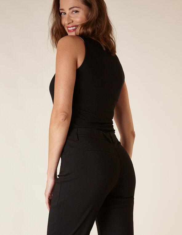 Black Butt Lift Slim Pant, Black, hi-res
