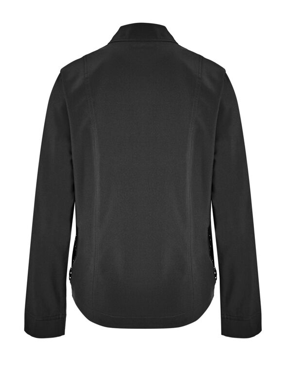 Black On The Go Jacket, Black, hi-res