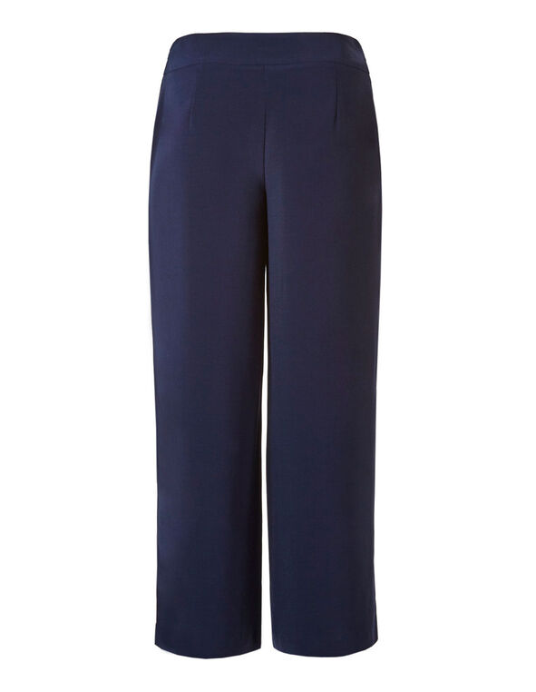 Navy Soft Wide Leg Pant, Navy, hi-res