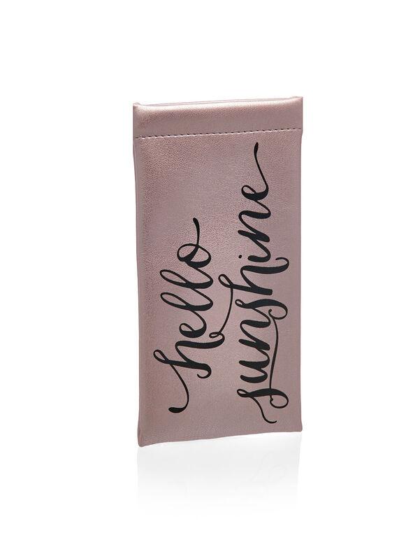 Metallic Lilac Sunglasses Case, Lilac, hi-res