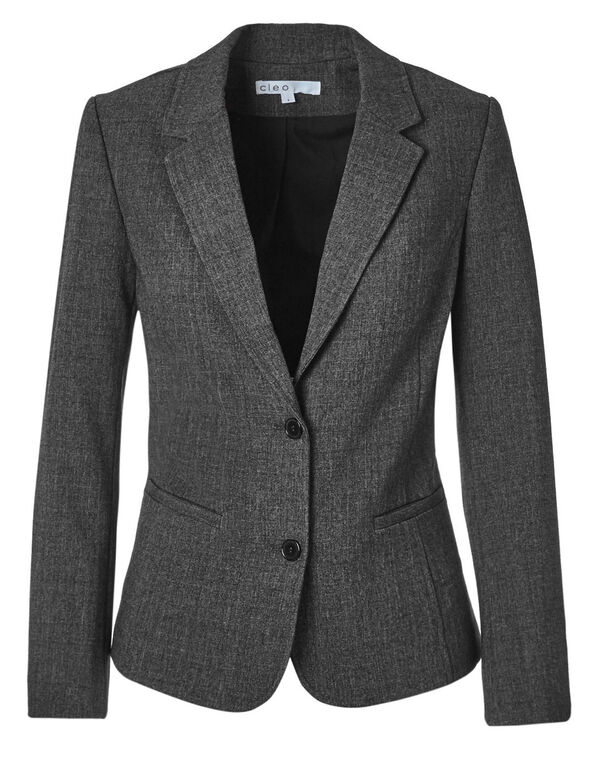 Charcoal Favourite Blazer, Charcoal, hi-res
