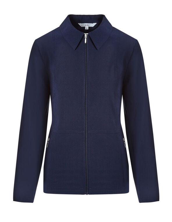 Summer Navy On The Go Jacket, Summer Navy, hi-res