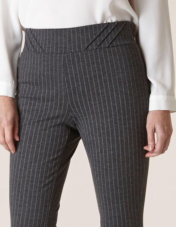 Grey Pinstripe Legging, Grey, hi-res