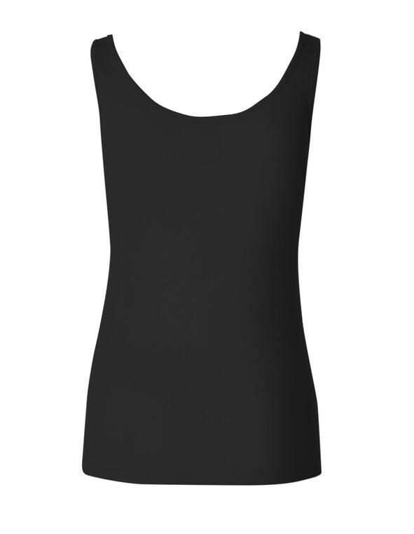 Black Universal Layering Cami, Black, hi-res
