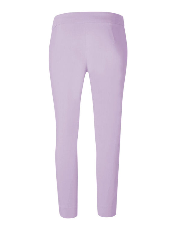 Lilac Ankle Pull On Pant, Lilac, hi-res