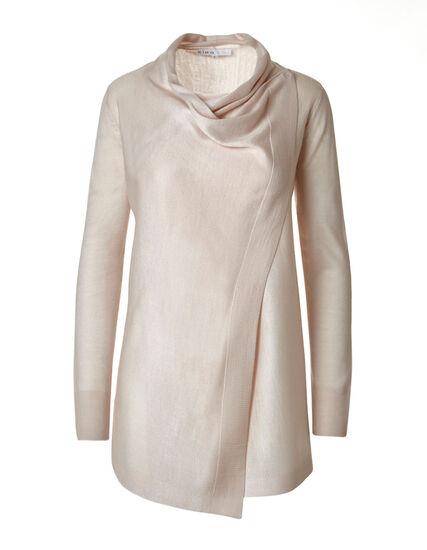 Misty Rose Wrap Sweater, Misty Rose, hi-res