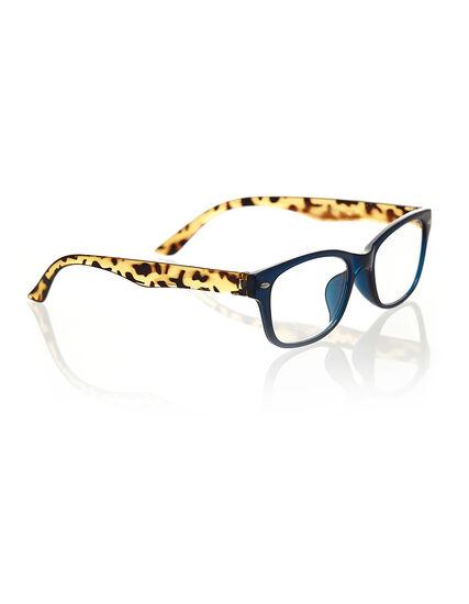 Animal Blue Frame Reader, Blue, hi-res
