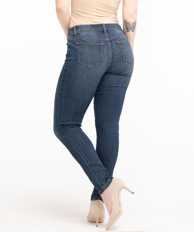 Low Impact Curvy Slim Jean, Mid Wash