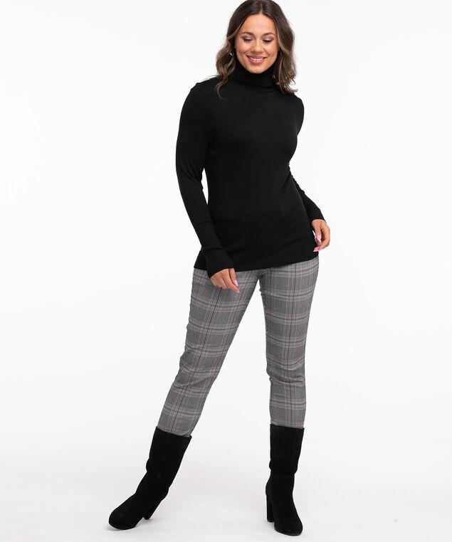 Low Impact Turtleneck Sweater, Black