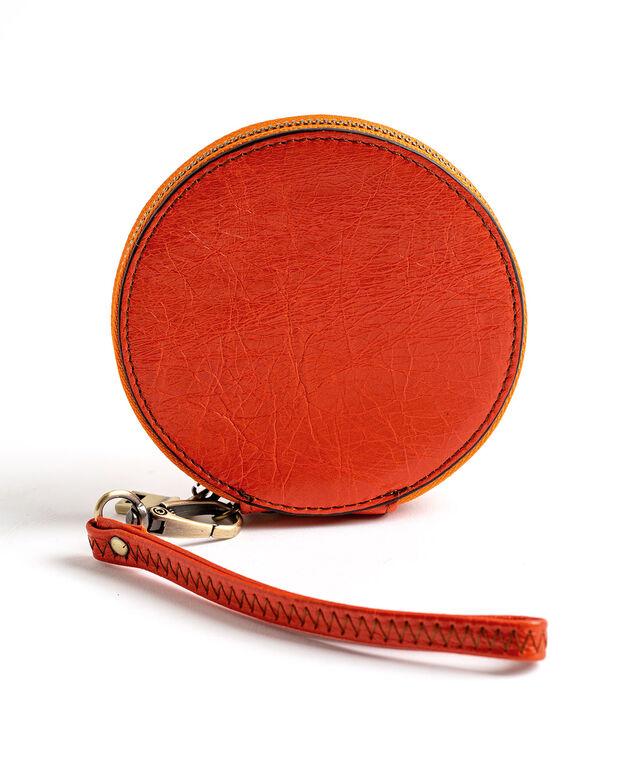 Round Coin Purse, Orange