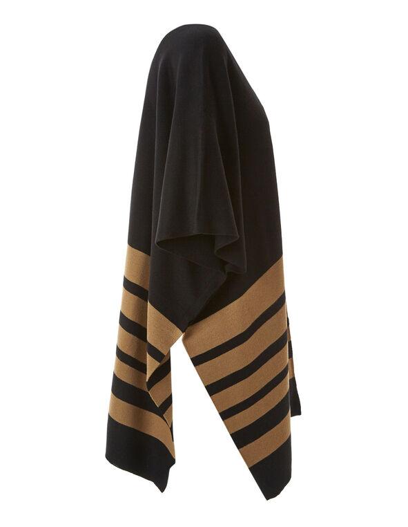 Camel Flat Knit Cardigan, Camel, hi-res