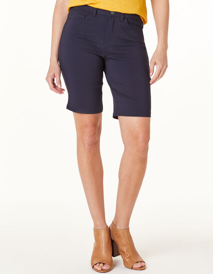 Navy Slim Short, Navy, hi-res