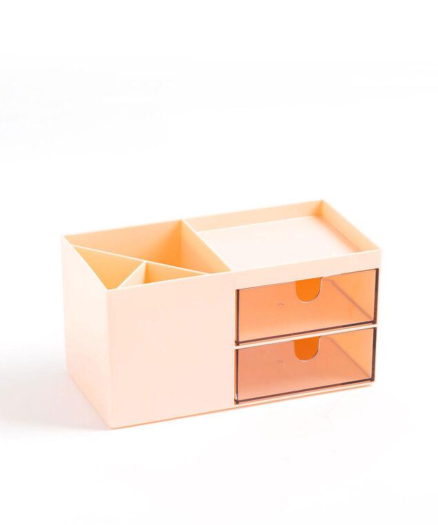 Desktop Storage Box, Blush
