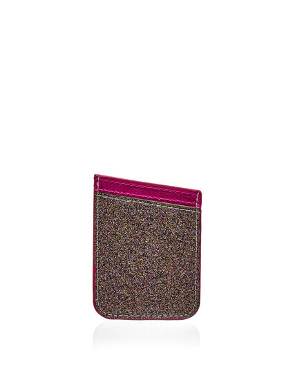 Peel-And-Stick Phone Card Holder, Pink, hi-res