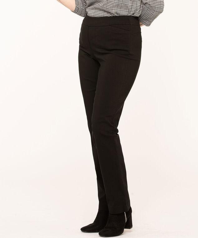 Black Butt Lift Slim Pant, Black
