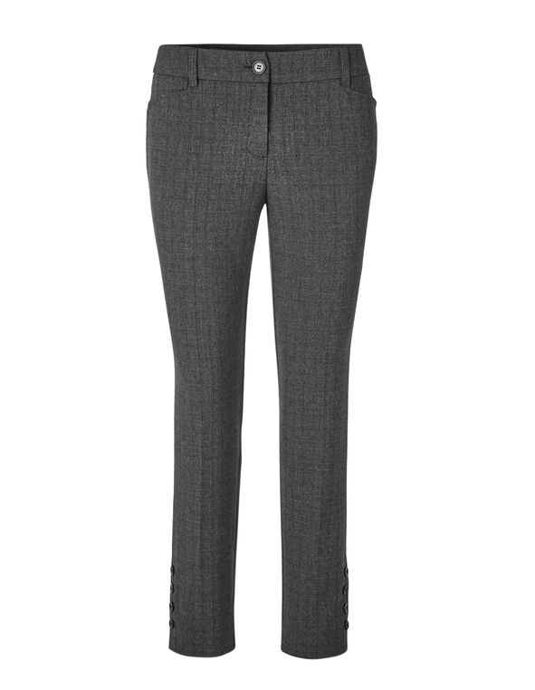 Charcoal Favourite Ankle Pant, Charcoal, hi-res