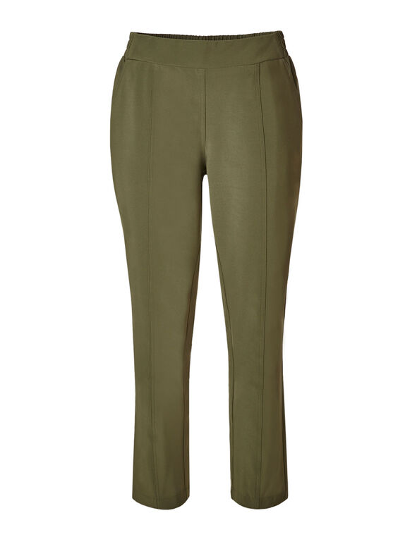 Olive On The Go Ankle Pant, Summer Olive, hi-res