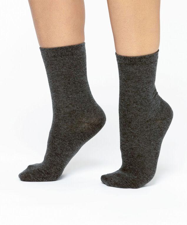 Grey Crew Sock, Grey