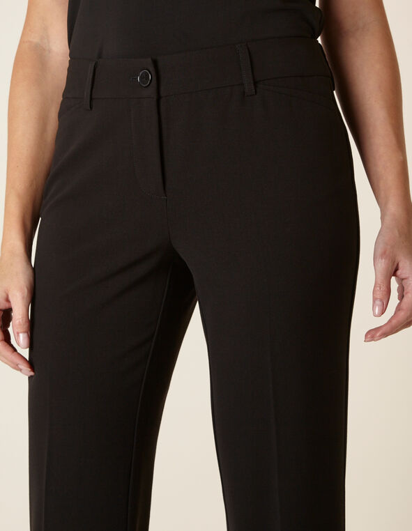 Black Trouser Pant, Black, hi-res