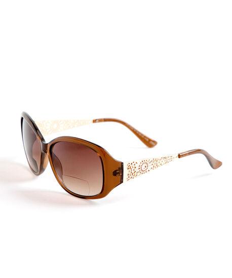 Brown Bi-Focal Sunglasses, Brown, hi-res