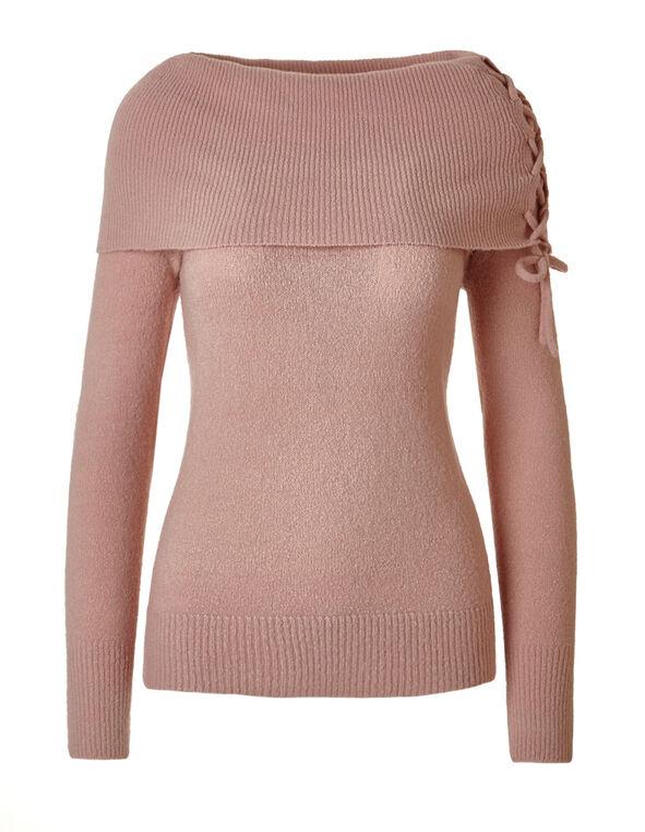 Ballet Marilyn Lace Up Sweater, Ballet, hi-res