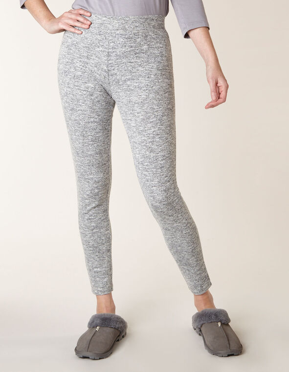 Grey Mix Hacchi Legging, Grey, hi-res