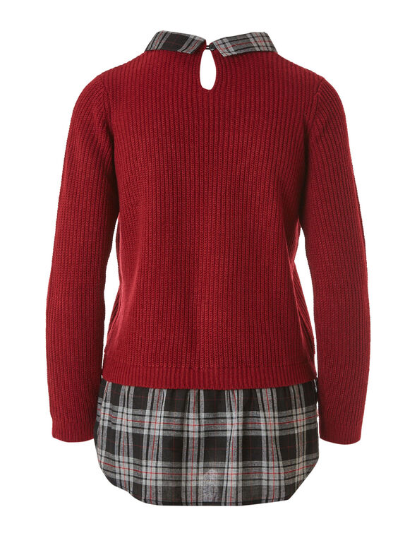 Red Fooler Sweater, Red, hi-res