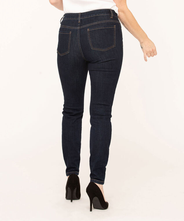 Dark Wash Skinny Jean, Dark Blue