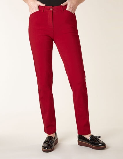 Ruby Butt Lift Slim Pant, Ruby, hi-res