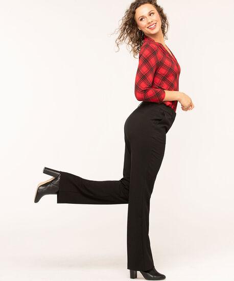 Black Trouser Pant, Black, hi-res