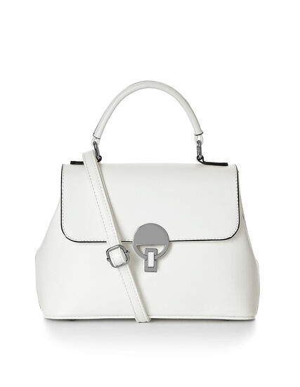 Small White Crossbody Lady Bag, White, hi-res
