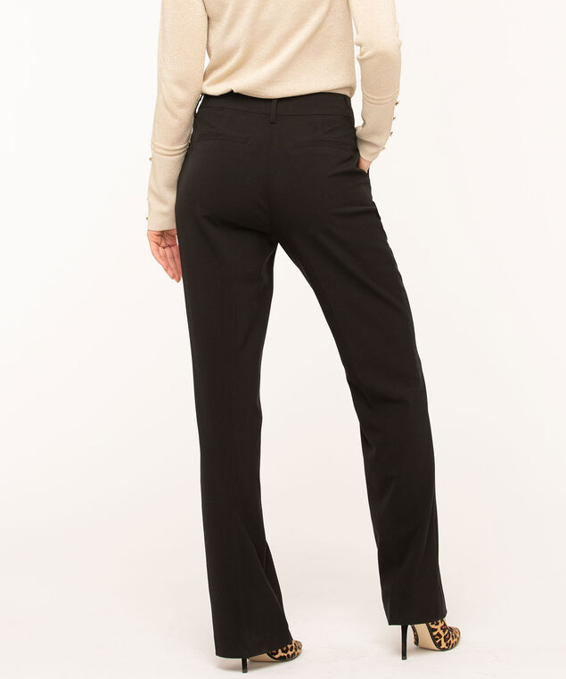 Black Trouser Pant - Curvy, Black, hi-res