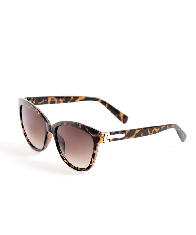 Tortoise Shell Sunglasses, Brown