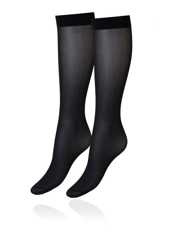 Black/Nude Trouser Sock Set, Neutral/Black, hi-res