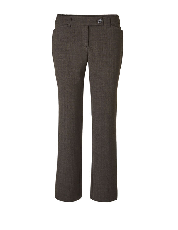Brown Every Body Trouser, Brown, hi-res