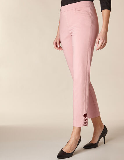 Rose Slim Ankle Pant, Pink/Rose, hi-res