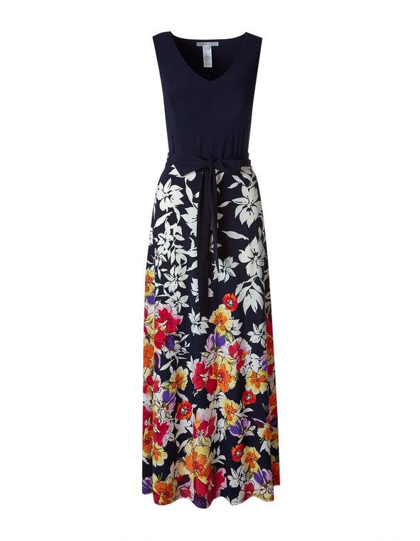 6b941ce61d7 ... Navy Floral Maxi Dress