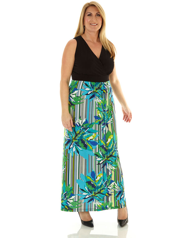 b7d64579eac ... Gren Floral Maxi Dress
