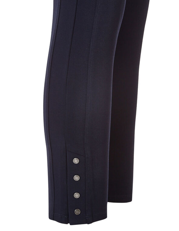 Navy Long Snap Legging, Navy, hi-res