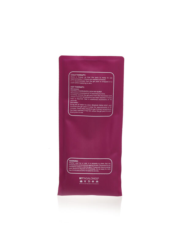 Pink Hot & Cold Gel Pack , Pink, hi-res
