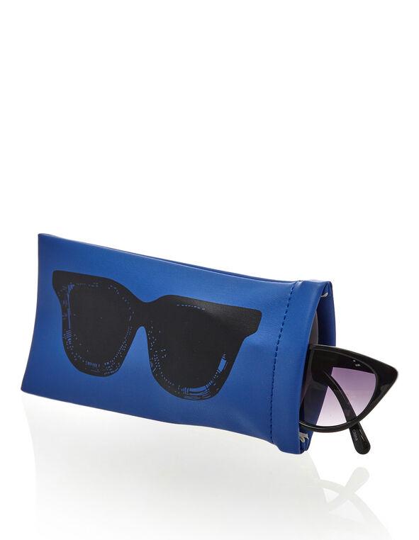 Cobalt Sunglasses Case, Cobalt, hi-res